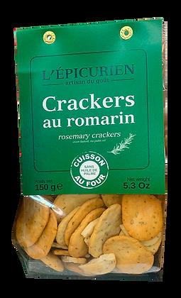 Crackers au Romarin - L'Epicurien