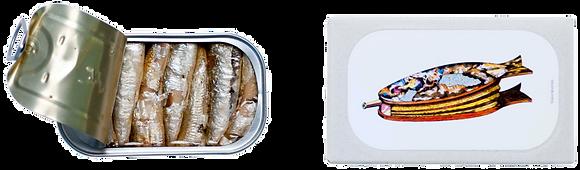 Petites SARDINES Fumées à l'Huile d'Olive Vierge Extra - José Gourmet