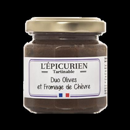 Duo OLIVES et Fromage de Chèvre - L'Epicurien