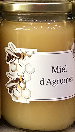 MIEL d'Agrumes