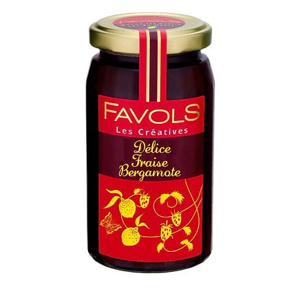 Confiture de Fraise-Bergamote - Favols