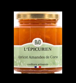 Confiture BIO Abricot Amendes de Corse - L'Epicurien