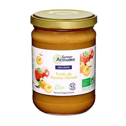 PURÉE de POMMES ABRICOTS (Pommes de France)