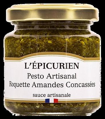Pesto Artisanal Roquette Amandes Concassées - L'Epicurien