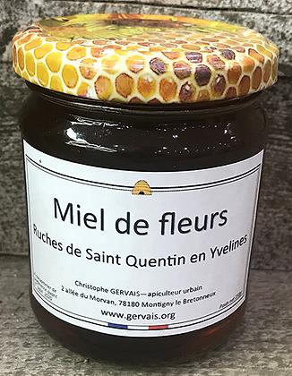 MIEL de Fleurs - Ruches de Saint-Quentin-en-Yvelines