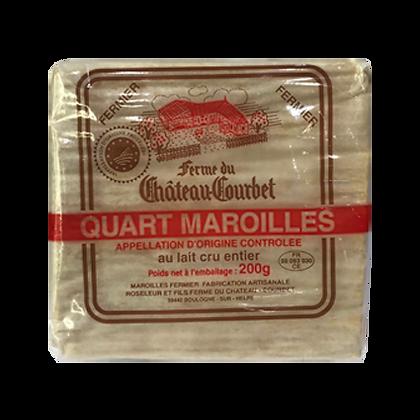 Quart MAROILLES Fermier AOP