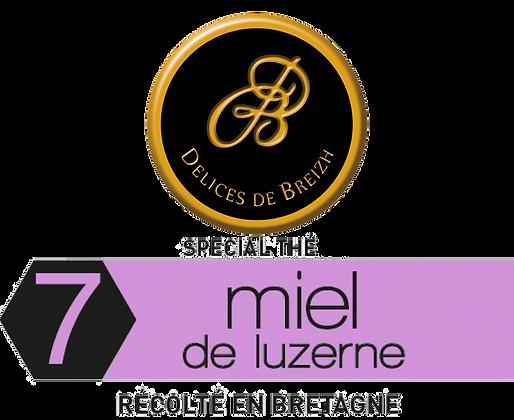 MIEL de Luzerne - Délices de Breizh