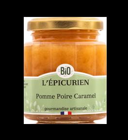 Confiture BIO Pomme Poire Caramel - L'Epicurien