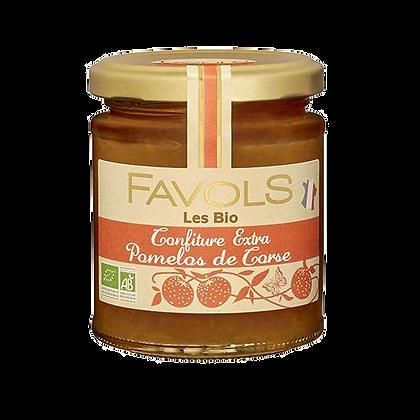Confiture POMELOS de Corse Bio - Favols