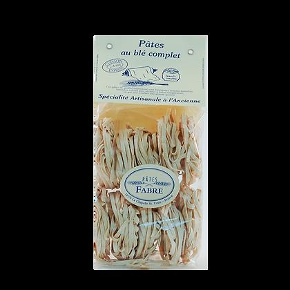 Pâtes Artisanales Maison FABRE - TAGLIATELLES Nids au Blé Complet