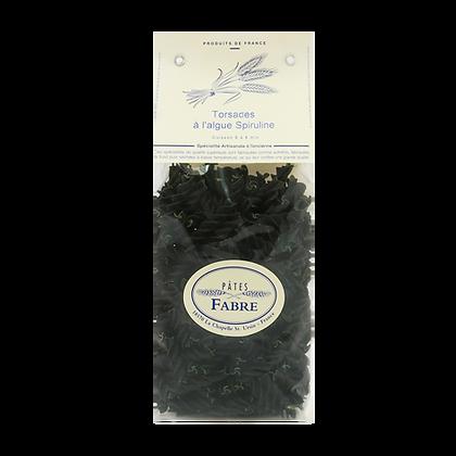 Pâtes Artisanales Maison FABRE - TAGLIATELLES Nids à l'Algue de Spiruline