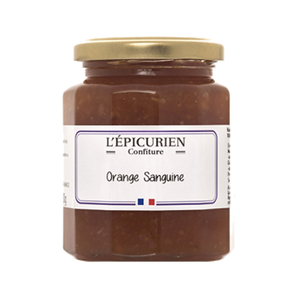 Confiture Orange Sanguine - l'Epicurien