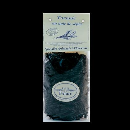 Pâtes Artisanales Maison FABRE - TORSADES Noir de Sépia