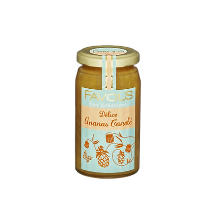 Délice Ananas Canelé - Favols