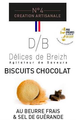 Biscuit Chocolat - Délices de Breizh