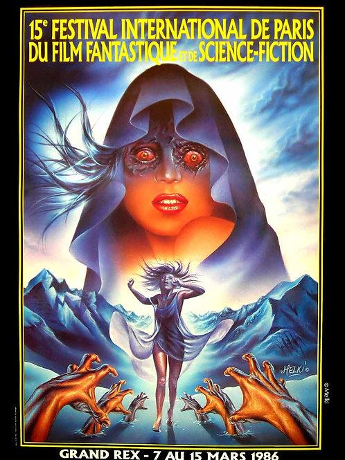 Affiche originale du Grand Rex 86