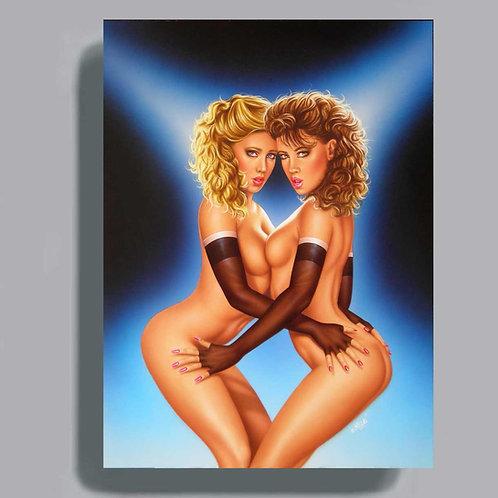 Poster VIDEO 7 Deux filles