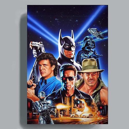Poster Fame 80