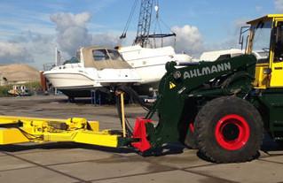Nieuwe shovel voor groter schepen 'The Beast'