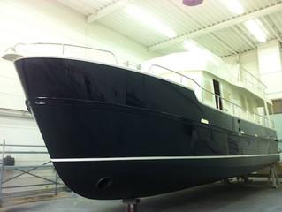 Nieuwe Alm Jachtbouw casco gereed!