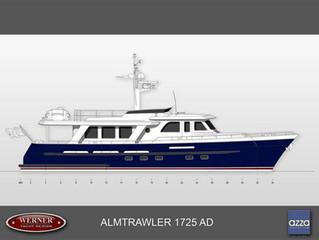 Eerste nieuwe ALM Trawler 17.25