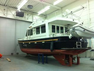 USA Alm trawler terug voor onderhoud