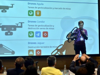 BHR and Value4Chain organized the first PeaceStartup Experience in Bogota with a great success of af