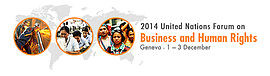 BHR attended the 2014 United Nations Forum on Business and Human Rights held on December 1-3 in Gene