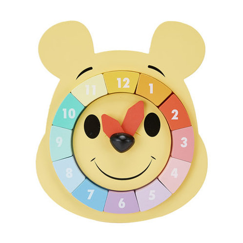 Wooden Winnie Puzzle Clock