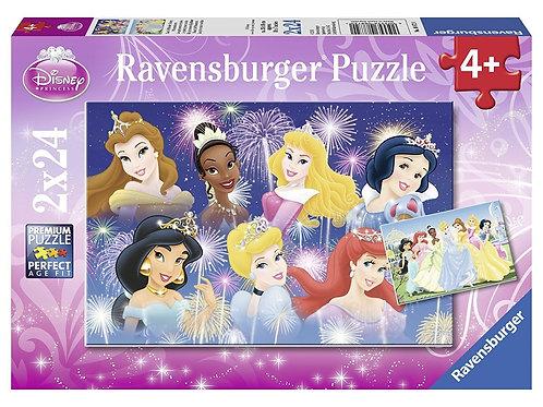 2 x 24 Piece Ravensburger Puzzle Disney