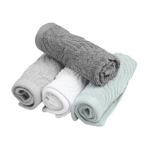 4 Pck Face Towels