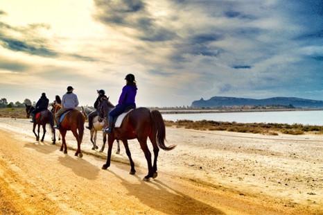 Escursione a cavallo Cagliari