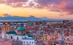 Foto Cagliari tramonto