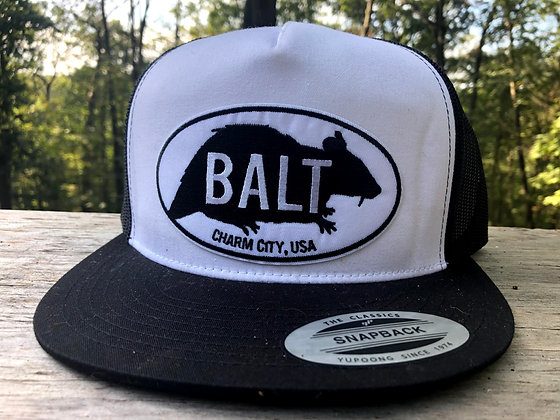 Balt Rat Embroidered trucker hat