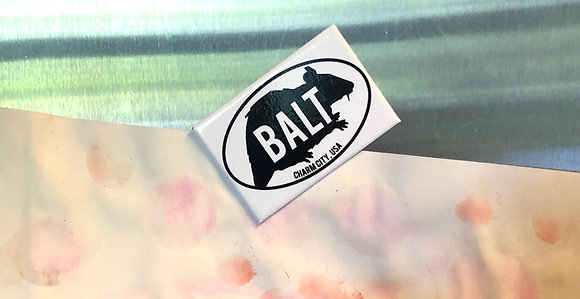 Balt Rat square fridge magnet