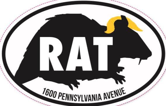 Trump Rat Sticker
