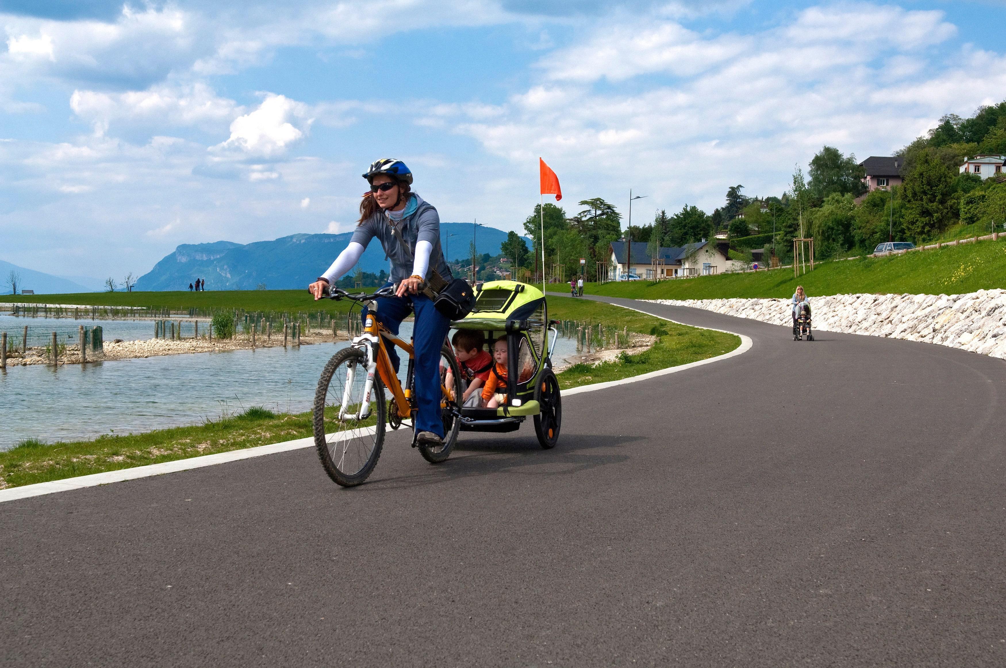 vélo électrique famille