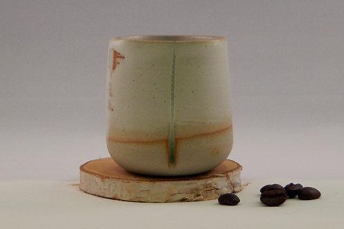 Tasse à café blanc / vert