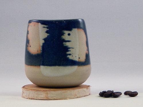 Tasse bleu / blanc