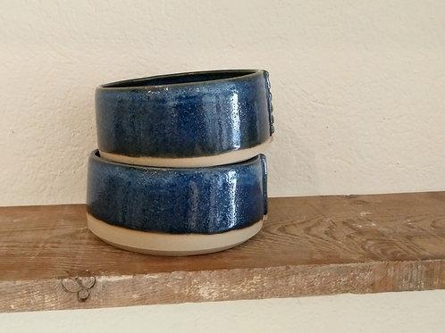 Ramequins bleu