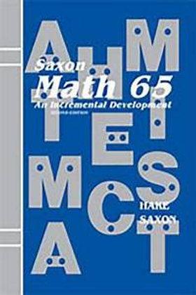 Math 65 Summer Camp 2021