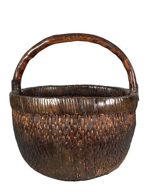 Vintage Asian Basket, c. 1920's
