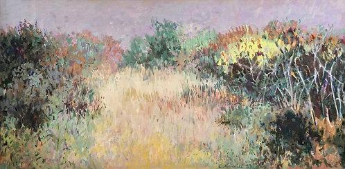 Carl Krabill, (American/Cleveland) Fall Landscape