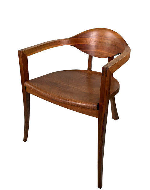 American Studio Craft Chair, signed