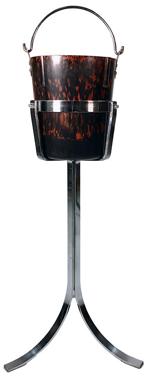 Bolta Bakelite Champagne Bucket with Chrome Stand