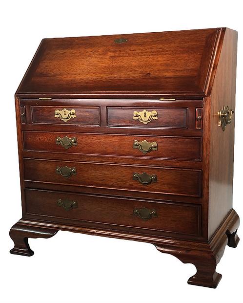 Maitland & Glascoe of London George II style miniature slant front desk