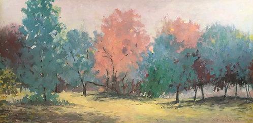 Carl Krabill (American/Cleveland) October Trees