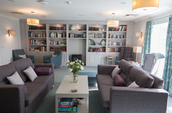 Care Home Library Lounge