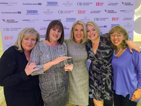 Foxhunters wins prestigious Knight Frank Best Luxury Care Home Award