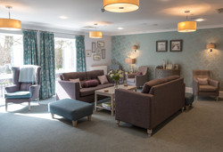 Care Home Cosy Lounge